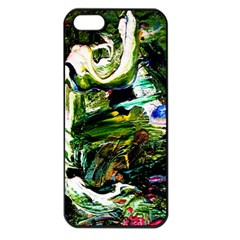 Bow Of Scorpio Before A Butterfly 8 Apple Iphone 5 Seamless Case (black) by bestdesignintheworld