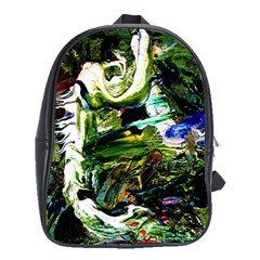 Bow Of Scorpio Before A Butterfly 8 School Bag (xl)