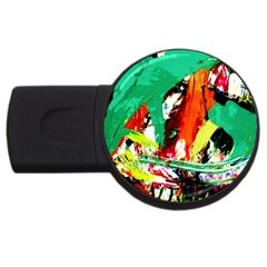 Tulips First Sprouts 7 Usb Flash Drive Round (2 Gb)
