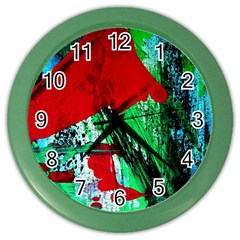 Humidity 5 Color Wall Clocks