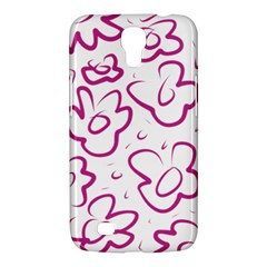 Flower Pink Samsung Galaxy Mega 6 3  I9200 Hardshell Case