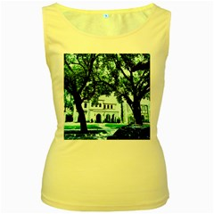 Hot Day In Dallas 16 Women s Yellow Tank Top
