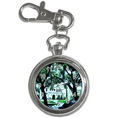 Hot Day In Dallas 16 Key Chain Watches by bestdesignintheworld