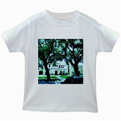 Hot Day In Dallas 16 Kids White T Shirts