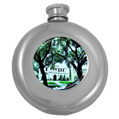 Hot Day In Dallas 16 Round Hip Flask (5 Oz)
