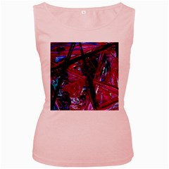 Sacred Knowledge 1 Women s Pink Tank Top