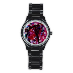 Sacred Knowledge 1 Stainless Steel Round Watch