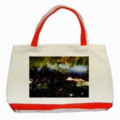 Highland Park 10 Classic Tote Bag (red) by bestdesignintheworld