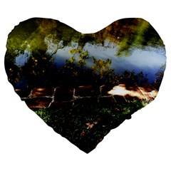 Highland Park 10 Large 19  Premium Heart Shape Cushions