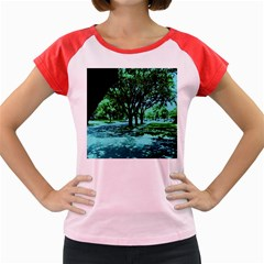 Hot Day In Dallas 5 Women s Cap Sleeve T Shirt