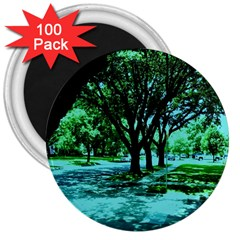 Hot Day In Dallas 5 3  Magnets (100 Pack)
