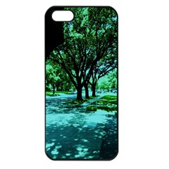 Hot Day In Dallas 5 Apple Iphone 5 Seamless Case (black)