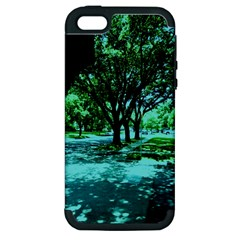 Hot Day In Dallas 5 Apple Iphone 5 Hardshell Case (pc+silicone)
