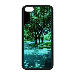 Hot Day In Dallas 5 Apple Iphone 5c Seamless Case (black)