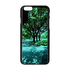 Hot Day In Dallas 5 Apple Iphone 6/6s Black Enamel Case