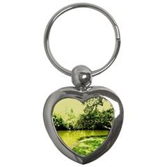 Lake Park 9 Key Chains (heart)