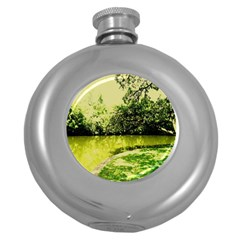 Lake Park 9 Round Hip Flask (5 Oz)