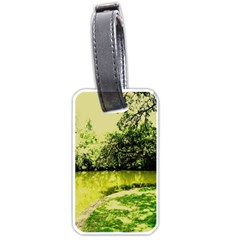 Lake Park 9 Luggage Tags (one Side)