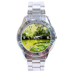 Lake Park 9 Stainless Steel Analogue Watch