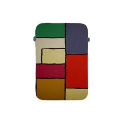 Color Block Art Painting Apple Ipad Mini Protective Soft Cases by goodart