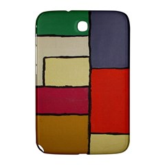 Color Block Art Painting Samsung Galaxy Note 8 0 N5100 Hardshell Case  by goodart