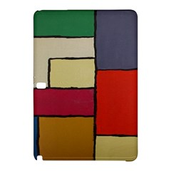 Color Block Art Painting Samsung Galaxy Tab Pro 10 1 Hardshell Case by goodart