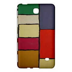 Color Block Art Painting Samsung Galaxy Tab 4 (7 ) Hardshell Case  by goodart