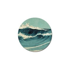 Waves Painting Golf Ball Marker (10 Pack)