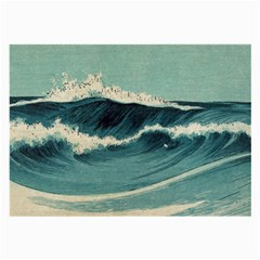 Waves Painting Large Glasses Cloth (2 Side)