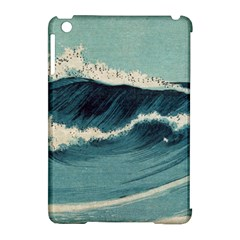 Waves Painting Apple Ipad Mini Hardshell Case (compatible With Smart Cover)