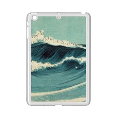 Waves Painting Ipad Mini 2 Enamel Coated Cases
