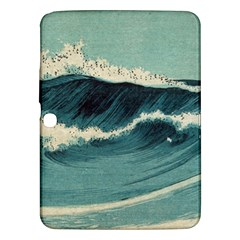 Waves Painting Samsung Galaxy Tab 3 (10 1 ) P5200 Hardshell Case  by goodart