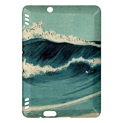 Waves Painting Kindle Fire Hdx Hardshell Case