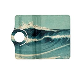 Waves Painting Kindle Fire Hd (2013) Flip 360 Case by goodart