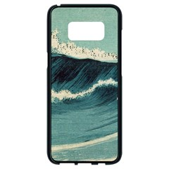 Waves Painting Samsung Galaxy S8 Black Seamless Case