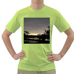 Photography Sunset Green T Shirt