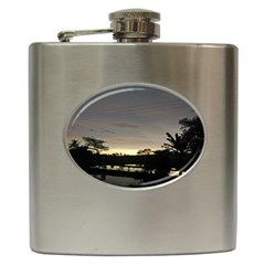 Photography Sunset Hip Flask (6 Oz)