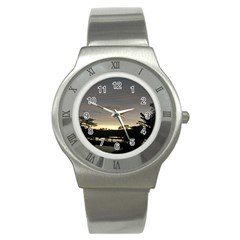 Photography Sunset Stainless Steel Watch