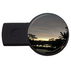 Photography Sunset Usb Flash Drive Round (4 Gb)