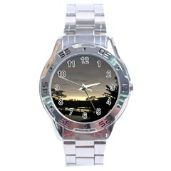 Photography Sunset Stainless Steel Analogue Watch