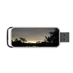 Photography Sunset Portable Usb Flash (one Side)