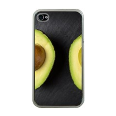 Fruit Avocado Apple Iphone 4 Case (clear)
