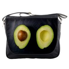 Fruit Avocado Messenger Bags