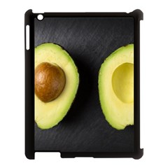 Fruit Avocado Apple Ipad 3/4 Case (black) by goodart