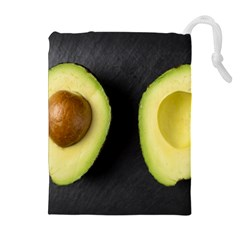 Fruit Avocado Drawstring Pouches (extra Large)