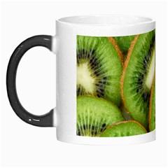 Sliced And Open Kiwi Fruit Morph Mugs