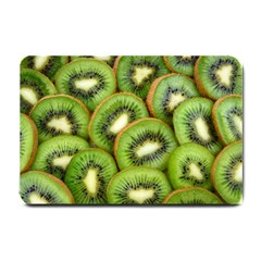 Sliced And Open Kiwi Fruit Small Doormat