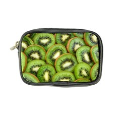 Sliced And Open Kiwi Fruit Coin Purse by goodart
