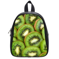 Sliced And Open Kiwi Fruit School Bag (small)