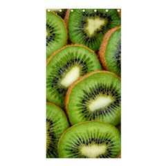 Sliced And Open Kiwi Fruit Shower Curtain 36  X 72  (stall)  by goodart
